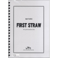 JC000576JPC楽譜 FIRST STRAW for Percussion Trio 3重奏