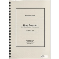 JC001351JPC楽譜 TIme Traveler for Marimba and 4 Percussion