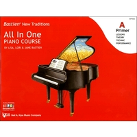 BASTIEN NEW TRADITIONS:ALL IN ONE PIANO COURSE PRIMER A
