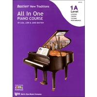 BASTIEN NEW TRADITIONS:ALL IN ONE PIANO COURSE LEVEL1A