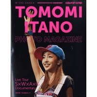 GiRLPOP EXTRA TOMOMI ITANO PHOTO MAGAZINE Live Tour ~S×W×A×G~Documentary