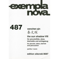 Sun Shadow VIII, The(Piccolo,Ob,Cl,Perc.)