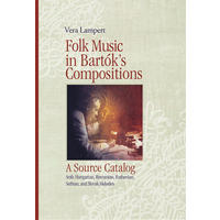 Folk Music in Bartok's Compositions - A Source Catalog/Lampert編(CD付)(ハードカバー)