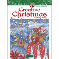 Creative Haven: Creative Christmas Coloring Book
