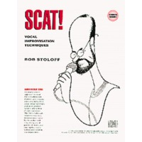 SCAT! VOCAL IMPROVISATION TECHNIQUES(BK&CD)