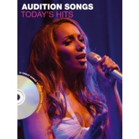 AUDITION SONGS:FEMALE SINGERS: TODAY'S HITS(+CD)