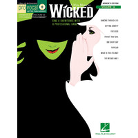 Wicked - Pro Vocal Series Women's Edition Vol.36(+CD)