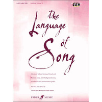 Language of Song, The: 上級編(高声用): CD付