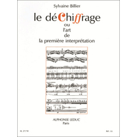 Dechiffrage ou l'Art de la Premiere Interpretation