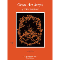Great Art Songs of 3 Centuries(高声用)/Taylor編