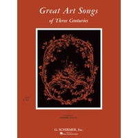 Great Art Songs of 3 Centuries(低声用)/Taylor編