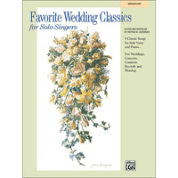 Favorite Wedding Classics for Solo Singers(中/低声用)/Liebergen編