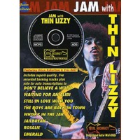JAM WITH THIN LIZZY(+CD)