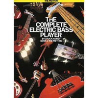 COMPLETE ELECTRIC BASS PLAYER BOOK.1: THE METHOD