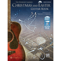 Worship Leader's Christmas & Easter Guitar Book, The/TAB譜/Carrola編曲(MP3 CD付)