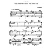ART OF TOUCHING THE KEYBOARD FOR PIANO, THE