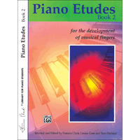 Piano Etudes for the Development of Musical Fingers 第2巻/Clark & Goss & Holland編