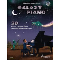 Galaxy Piano: 20 Galactic Easy Piano Pieces: CD付