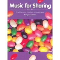 Music for Sharing 第1巻: 10 Early Elementary Piano Duets with Student Appeal