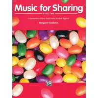 Music for Sharing 第2巻: 9 Elementary Piano Duets with Student Appeal