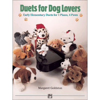 Duets for Dog Lovers: Early Elementary Duets for 1 Piano, 4 Paws