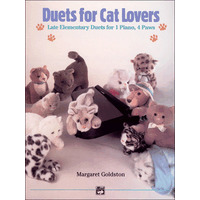 Duets for Cat Lovers: Early Elementary Duets for 1 Piano, 4 Paws
