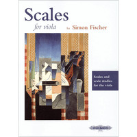 ビオラのための音階練習: Scales & Scale Studies for the Viola