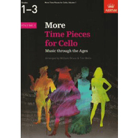 More Time Pieces for Cello 第1巻