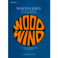 BASSOON SOLOS/WATERHOUSE VOL.1
