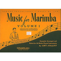 MUSIC FOR MARIMBA VOL.1/JOLLIFF