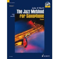 JAZZ METHOD FOR TEMPR SAXOPHONE, THE: BOOK & CD