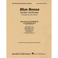 BLUE BOSSA OCTET(5 HR + RHYTHM)/DORHAM