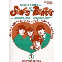 SONGS OF THE BEATLES VOL.1/RANDALL: SCORE & PARTS
