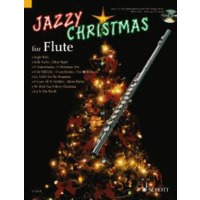 JAZZY CHRISTMAS FOR FLUTE(+CD)