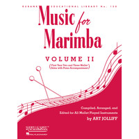MUSIC FOR MARIMBA VOL.2(MAR,P)/JOLLIFF