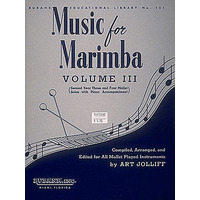 MUSIC FOR MARIMBA VOL.3(MAR,P)/JOLLIFF