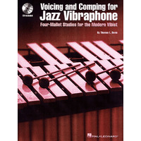 VOICING AND COMPING FOR JAZZ VIBRAPHONE(+CD)
