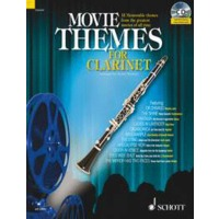 MOVIE THEMES FOR CLARINET(+CD)
