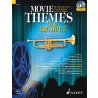 MOVIE THEMES FOR TRUMPET(+CD)