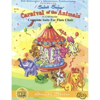 Carnival of The Animals,Complete Suite:Flute Choir
