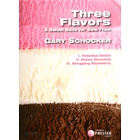 3 Flavors: Vivacious Vanilla, Chewy Chocolate and Struggling Strawberry