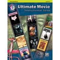 Ultimate Movie Instrumental Solos(Tenor Sax)(CD付)