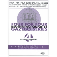 FOUR FOR 4 CLARINETS VOL.2/HOLCOMBE