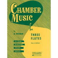 CHAMBER MUSIC FOR 3 FLUTES