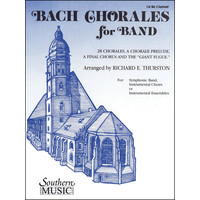 Bach Chorales for Band: E-flat Contrabass Clarinet