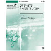 We Wish You a Merry Christmas(3-5オクターブ)/Wissinger編曲