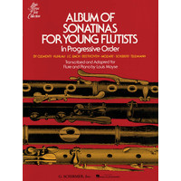 Album of Sonatinas for Young Flutists In Progressive Order/モイーズ編