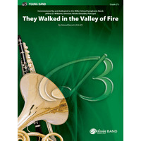 They Walked in the Valley of Fire: スコアとパート譜セット
