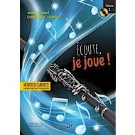 Ecoute, Je Joue! - クラリネット用教本 第2巻(CD-ROM付)