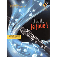 Ecoute, Je Joue! - クラリネット用教本 第3巻(CD-ROM2枚付)